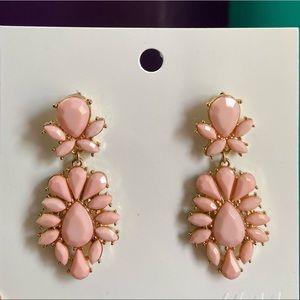 Unworn Light Pink Statement Earrings!